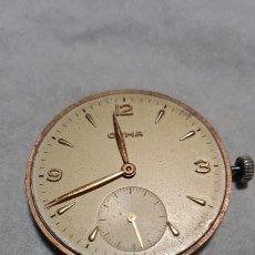 Relojes de pie: MAQUINARIA DE RELOJ CYMA CALIBRE 586 EN PERFECTO FUNCIONAMIENTO DIAMETRO 35 MILIMETROS DE DIAL COMPL. Lote 142740893