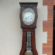 Relojes de pie: ANTIGUO RELOJ MOREZ CON BUEN FUNCIONAMIENTO. Lote 143002746