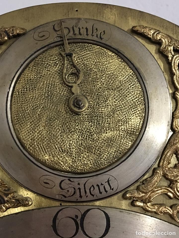Relojes de pie: ANTIGUO RELOJ INGLÉS DE PIE - SIGLO XVIII - FUNCIONANDO - Foto 4 - 143546901