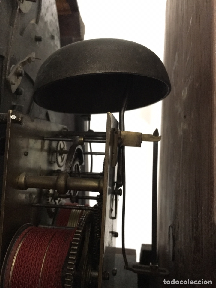 Relojes de pie: ANTIGUO RELOJ INGLÉS DE PIE - SIGLO XVIII - FUNCIONANDO - Foto 13 - 143546901