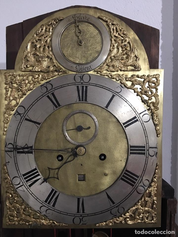 Relojes de pie: ANTIGUO RELOJ INGLÉS DE PIE - SIGLO XVIII - FUNCIONANDO - Foto 18 - 143546901