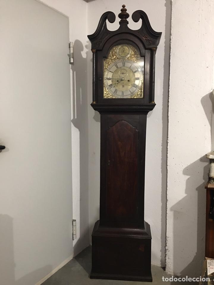 Relojes de pie: ANTIGUO RELOJ INGLÉS DE PIE - SIGLO XVIII - FUNCIONANDO - Foto 19 - 143546901