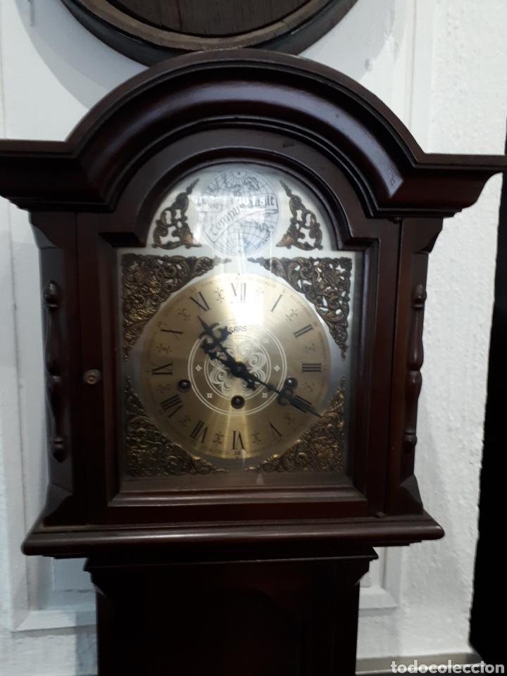 Relojes de pie: Reloj de pie años 60 funcionando leer descripción - Foto 2 - 143883290