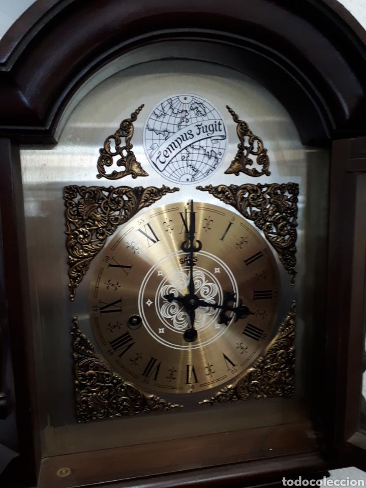 Relojes de pie: Reloj de pie años 60 funcionando leer descripción - Foto 4 - 143883290