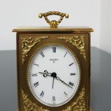 Relojes de pie: ELEGANTE RELOJ DE MESA SWIZA 8. Lote 143957738