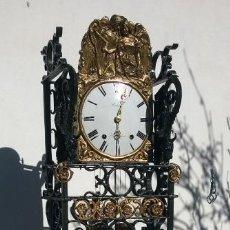 Relojes de pie: RELOJ DE PÉNDULO Y FORJA. Lote 144215666