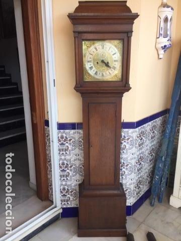 RELOJ DE PARED INGLES DEL SIGLO 18 (Relojes - Pie Carga Manual)