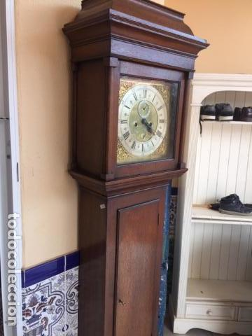 Relojes de pie: Reloj de pared ingles del siglo 18 - Foto 4 - 144848986