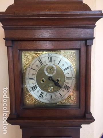 Relojes de pie: Reloj de pared ingles del siglo 18 - Foto 6 - 144848986