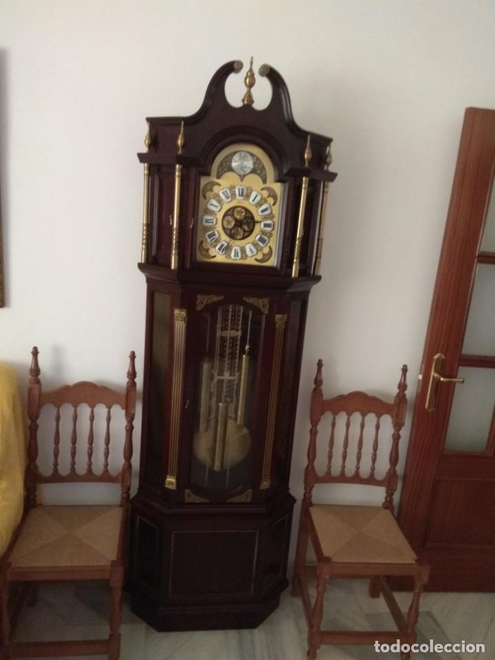 RELOJ ANTIGUO TEMPUS FUGIT LAFUENTE (Relojes - Pie Carga Manual)