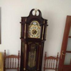 Relojes de pie: RELOJ ANTIGUO TEMPUS FUGIT LAFUENTE. Lote 146164798
