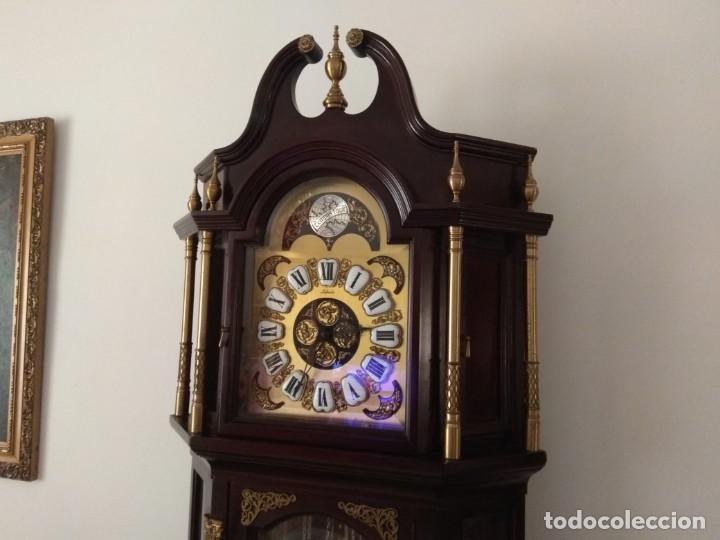 Relojes de pie: RELOJ ANTIGUO TEMPUS FUGIT LAFUENTE - Foto 2 - 146164798