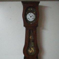 Relojes de pie: RELOJ DE MOVIMIENTO, PANADERO - MAQUINA MOREZ, CON AUTÓMATA - RELOJ DE PIE - FUNCIONA - S. XIX. Lote 147127458