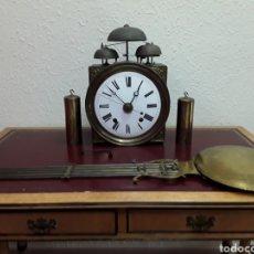 Relojes de pie: RELOJ MOREZ DE CUATRO CAMPANAS CON SEGUNDERO. Lote 147312429