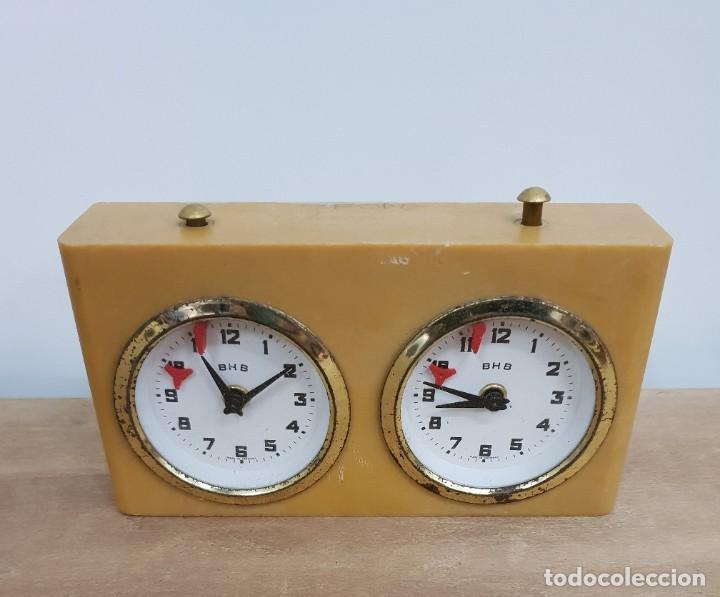 Relojes de pie: RELOJ DE AJEDREZ BHB - Foto 4 - 147871470