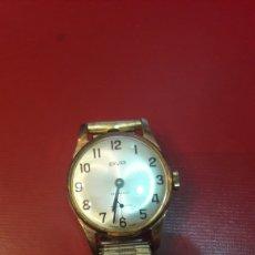Relojes de pie: RELOG CUERDA SAVAR FUNCIONA INOXIDABLE SEÑORA. Lote 148614149