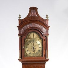Relojes de pie: SUBJECT: A LONGCASE CLOCK BY JOHN ELLICOT 18TH CENTURY. Lote 149228558