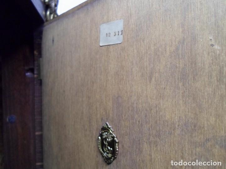 Relojes de pie: Importante reloj de pie marca de lujo Española Lafuente Bronces artísticos con sonerias Funcionando. - Foto 21 - 48040296