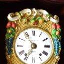 Relojes de pie: RELOJ DE PIE DE FERROL SIGLO XIX. Lote 152055898