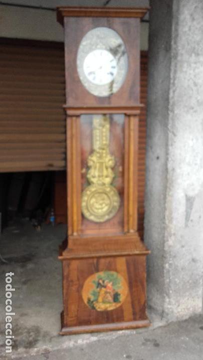 Relojes de pie: Reloj Morez con puerta interior - Foto 2 - 152175466