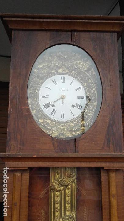 Relojes de pie: Reloj Morez con puerta interior - Foto 3 - 152175466