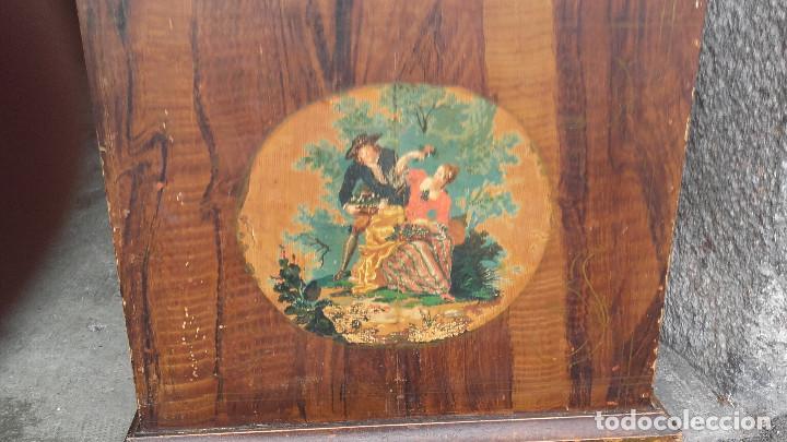 Relojes de pie: Reloj Morez con puerta interior - Foto 4 - 152175466