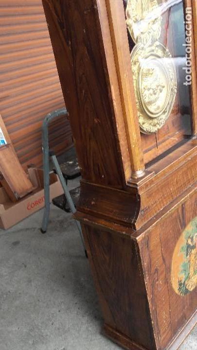 Relojes de pie: Reloj Morez con puerta interior - Foto 6 - 152175466