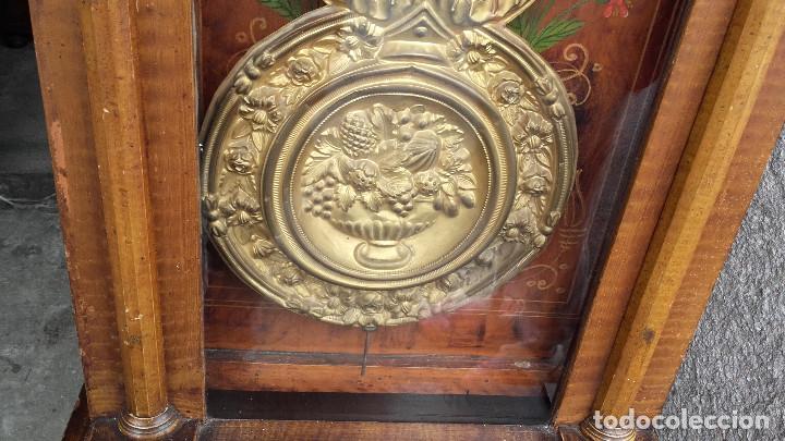 Relojes de pie: Reloj Morez con puerta interior - Foto 8 - 152175466