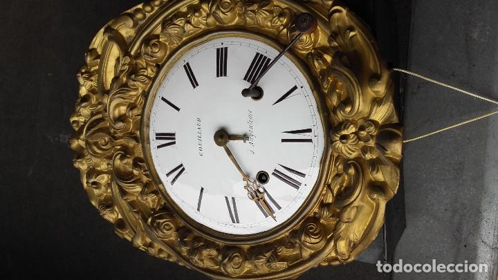 Relojes de pie: Reloj Morez con puerta interior - Foto 10 - 152175466