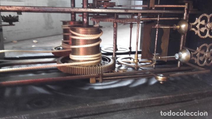 Relojes de pie: Reloj Morez con puerta interior - Foto 12 - 152175466