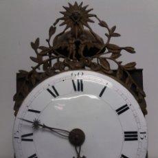 Relojes de pie: RELOJ MOREZ LLUIS XV DEL SIGLO XVIII. Lote 152439316