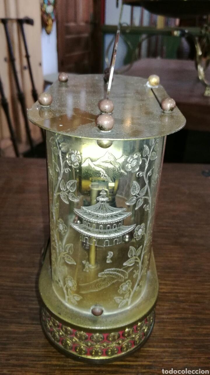 Relojes de pie: Reloj de mesa muy bonito de metal - Foto 3 - 153050738