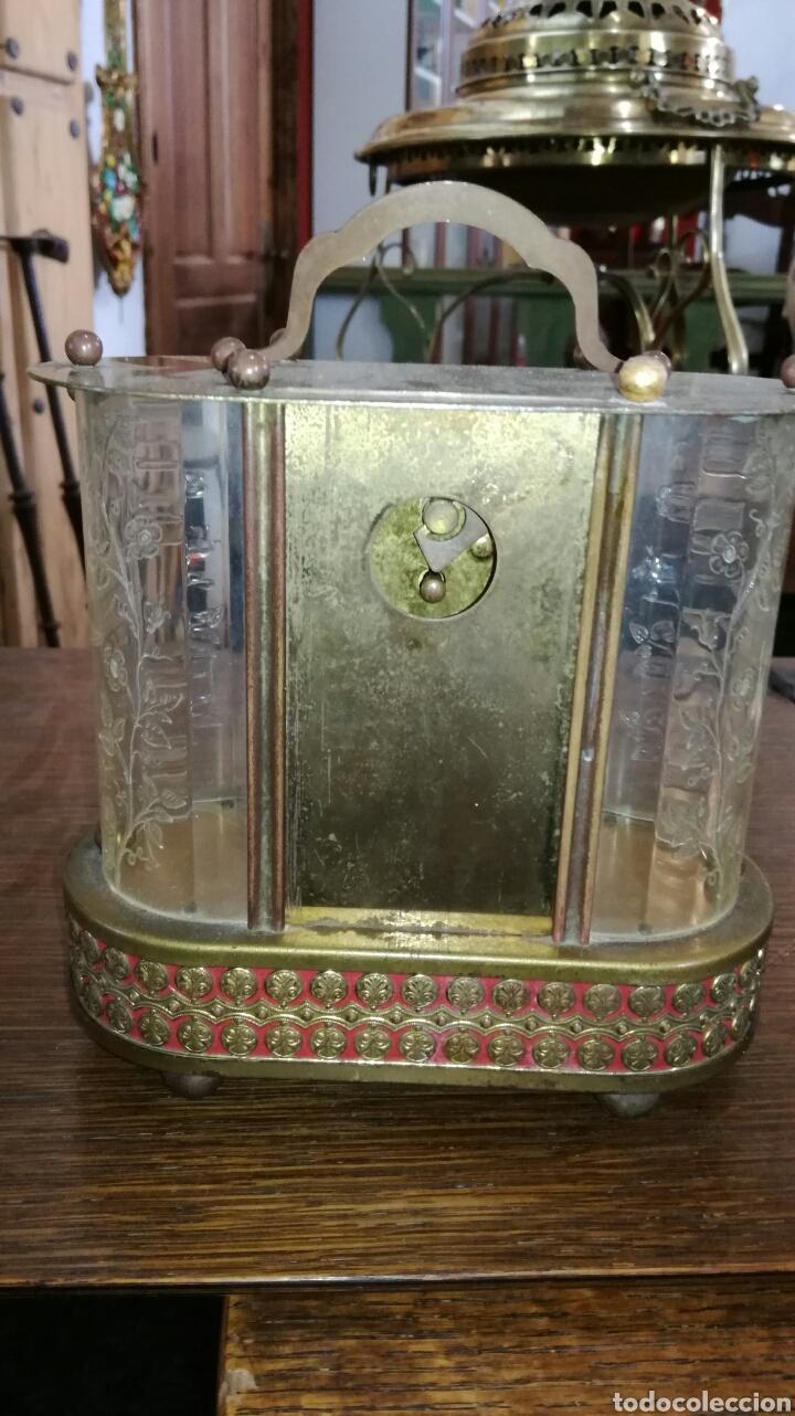 Relojes de pie: Reloj de mesa muy bonito de metal - Foto 4 - 153050738
