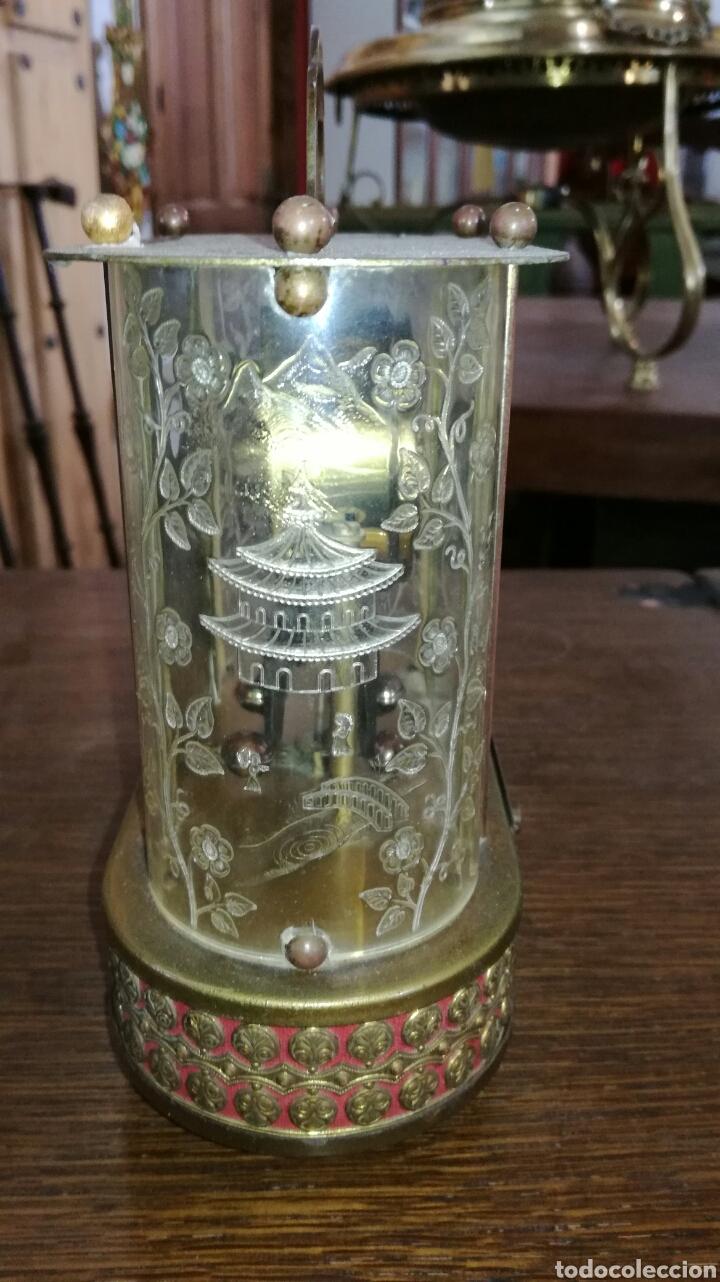 Relojes de pie: Reloj de mesa muy bonito de metal - Foto 5 - 153050738