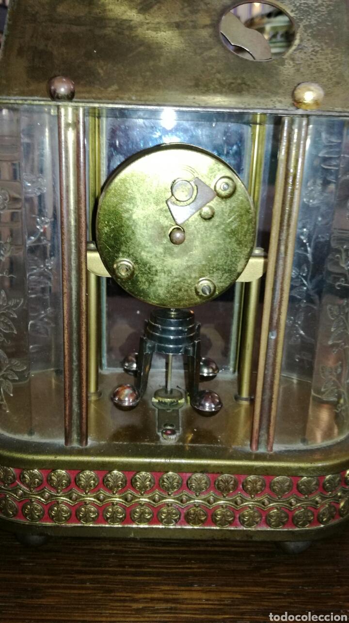 Relojes de pie: Reloj de mesa muy bonito de metal - Foto 6 - 153050738