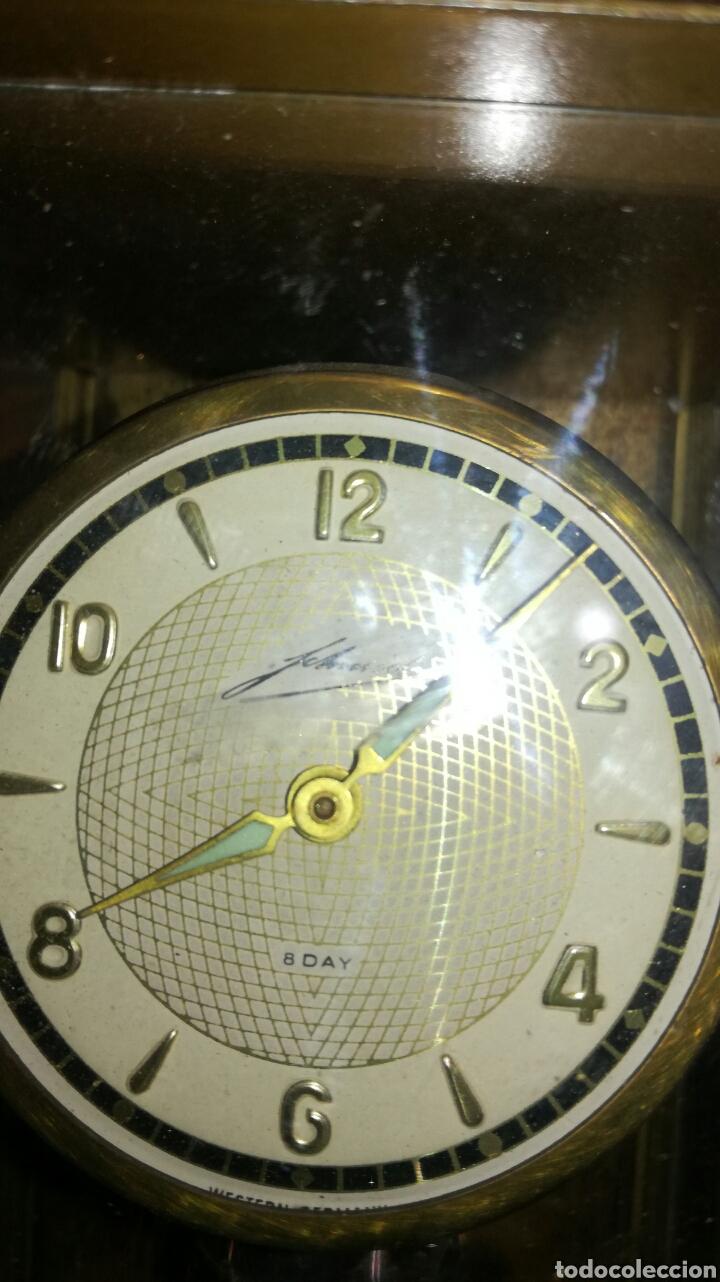 Relojes de pie: Reloj de mesa muy bonito de metal - Foto 7 - 153050738