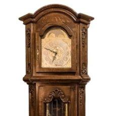 Relojes de pie: GRAN RELOJ DE PIE, DE LOS CUARTOS, EN EXCELENTE ESTADO DE FUNCIONAMIENTO, CON SONERÍA WINSMINSTER. Lote 153536010
