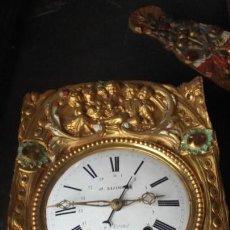 Relojes de pie: MECANISMO COMPLETO DE RELOJ MOREZ, ESCENA INFANTIL. Lote 153655918