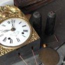 Relojes de pie: MECANISMO COMPLETO DE RELOJ MOREZ. Lote 154441938