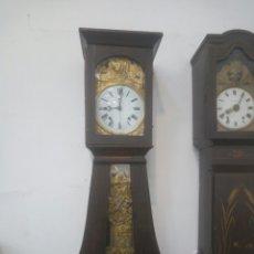 Horloges de parquet: MOREZ REGULADOR SEGUNDERO A CLAVILLAS 4 CAMPANAS. Lote 154470664