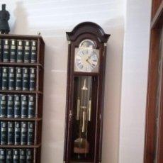 Relojes de pie: RELOJ DE ANTESALA DE PENDULO DE PIE JUNGHANS MAQUINARIA ALEMANA.SONERIA,CARILLON-WESTMISTER.NUEVO. Lote 155376330