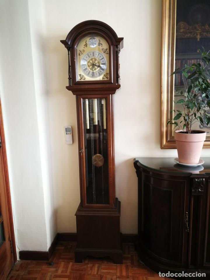 Relojes de pie: Reloj de pie de carrillón - Foto 2 - 155853214