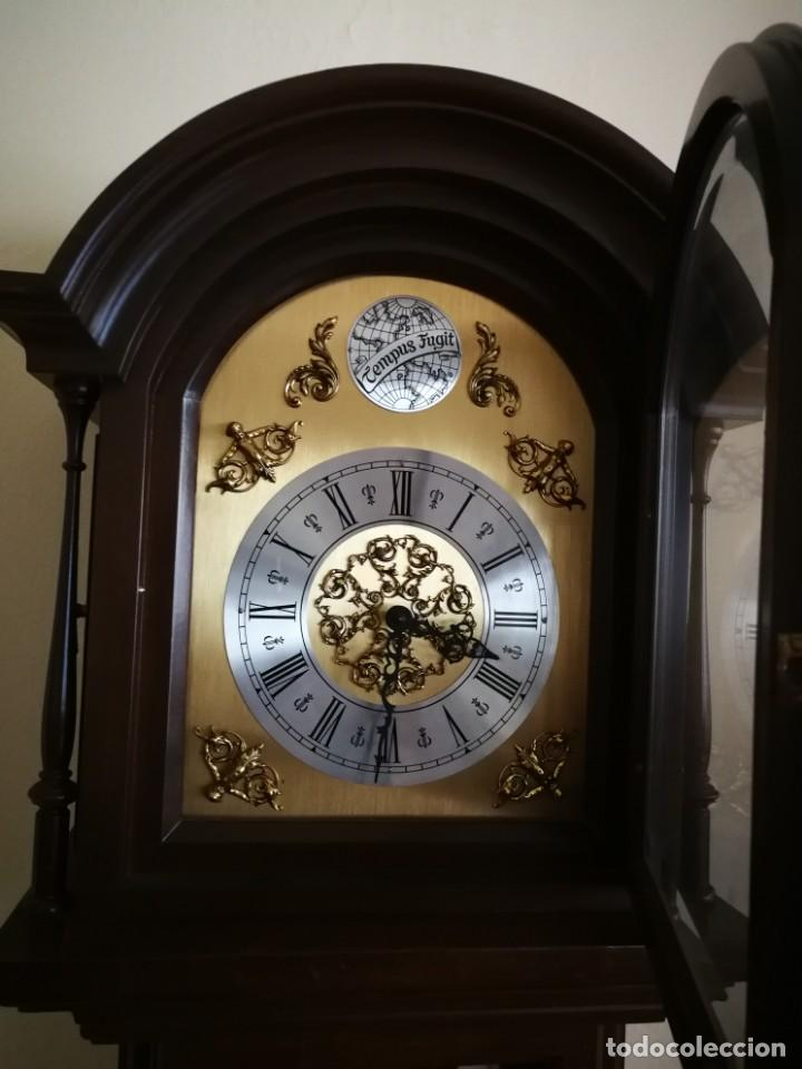 Relojes de pie: Reloj de pie de carrillón - Foto 3 - 155853214