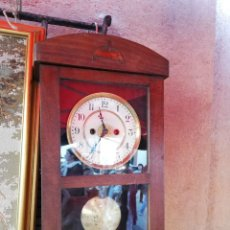 Relojes de pie: RELOJ ANTIGUO MODERNISTA ALFONSINO FUNCIONA. Lote 156850826