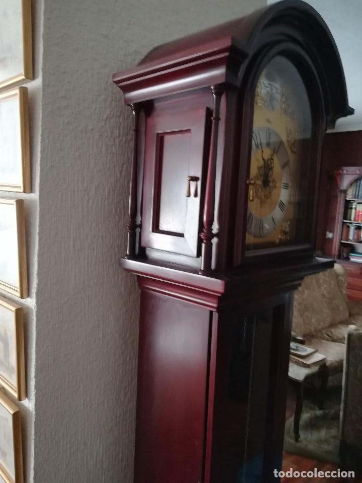 RELOJ DE PIE, MARCA WESTMINSTER, PERFECTO ESTADO DE CONSERVACION (Relojes - Pie Carga Manual)