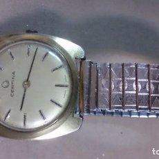 Relojes de pie: RELOJ CERTINA CABALLERO DORADO MADE SUISSE (NECESITA ARREGLO). Lote 158121142