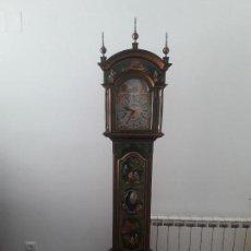 Relojes de pie: RELOJ DE PENDULO CARRILLON CON MOTIVOS JAPONESES.. Lote 159145922