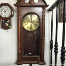 Relojes de pie: RELOJ ANTIGUO DE PARED. Lote 159199246