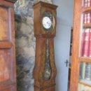 Relojes de pie: RELOJ DE PARED - MAQUINA MOREZ, HUTEREAU , MOVIMIENTO BARCO - CAJA FIRMADA MELLARD -FUNCIONA -S. XIX. Lote 159251610
