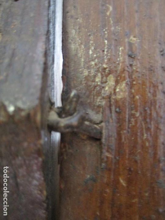 Relojes de pie: Reloj de Pared - Maquina Morez, Hutereau , Movimiento Barco - Caja Firmada Mellard -Funciona -S. XIX - Foto 20 - 159251610